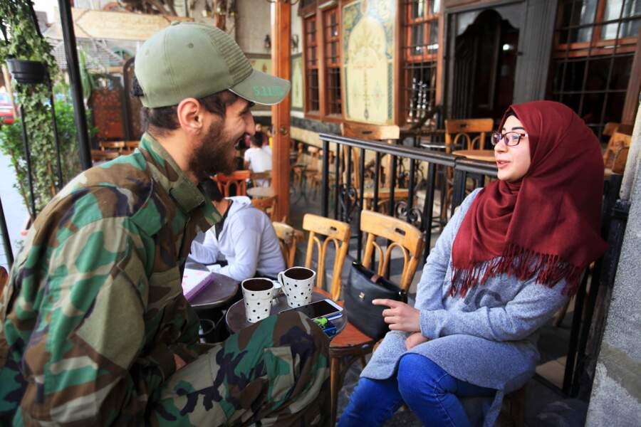 Damas, épargnée par les combats