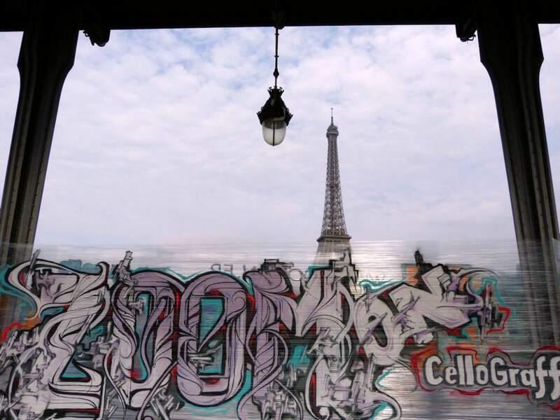 Photo prise au Pont de Bir-Hackeim à Paris par le GEOnaute : raymonde.contensous