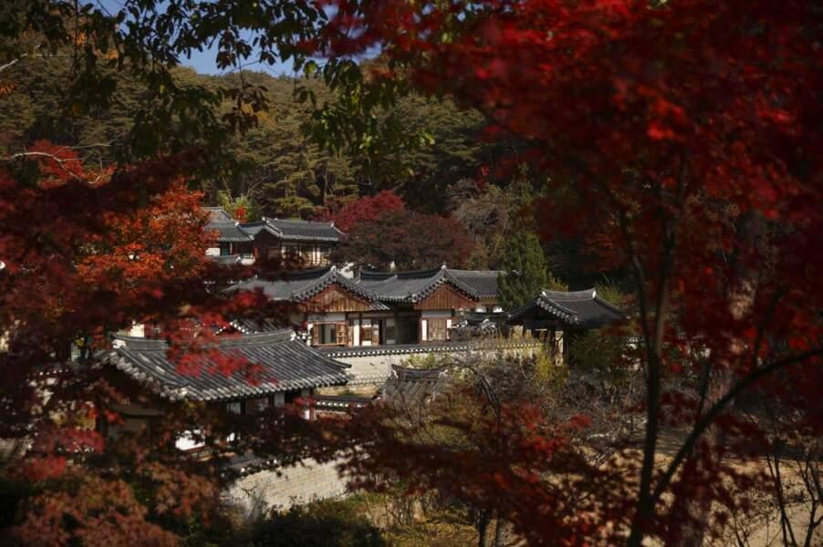 Le site de Seowon, académies néo-confucéennes en Corée du Sud