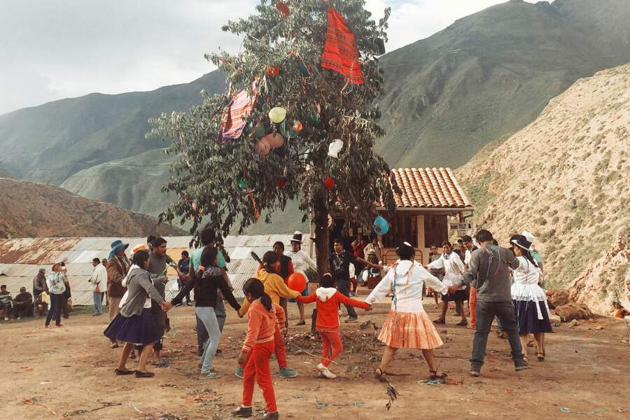 Le rituel de la yunza à Maras