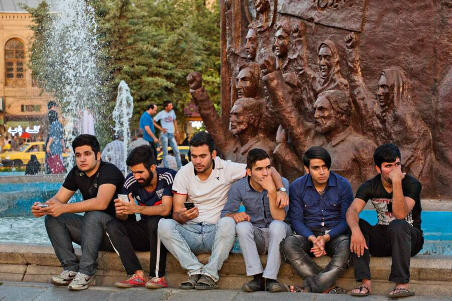 Pause sacrée à Hamadan