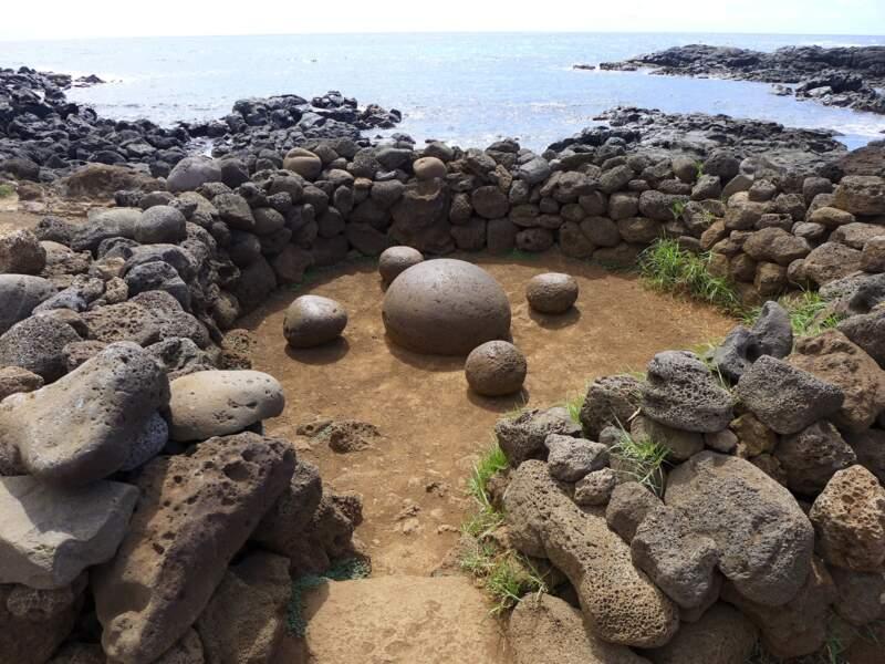 """La pierre dite du """"nombril du monde"""""""