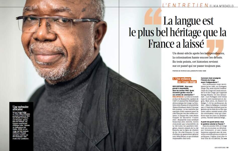 """""""La langue est le plus belhéritage laissé par la France"""""""