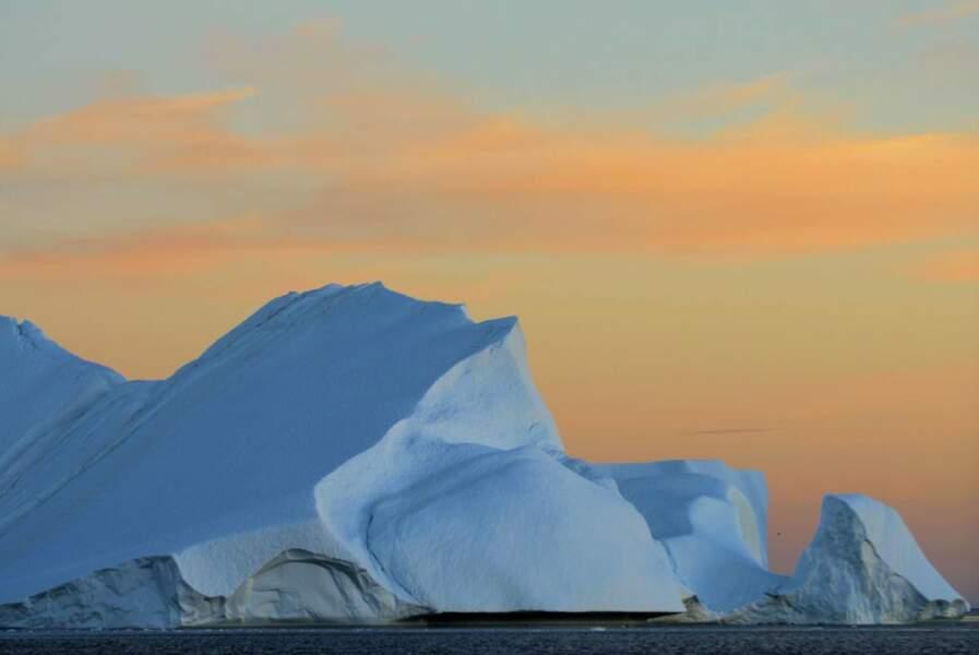 Ilulissat, à l'ouest du Groenland