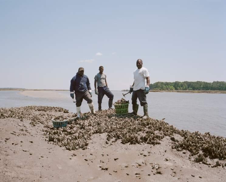 Sur l'île Saint Helena, une cinquantaine de Gullah vivent encore des produits de la mer