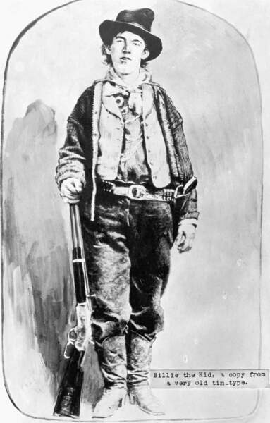 Billy the kid : l'enfant terrible, spécialiste de l'évasion