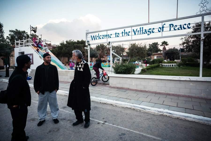 Le «village de la paix»