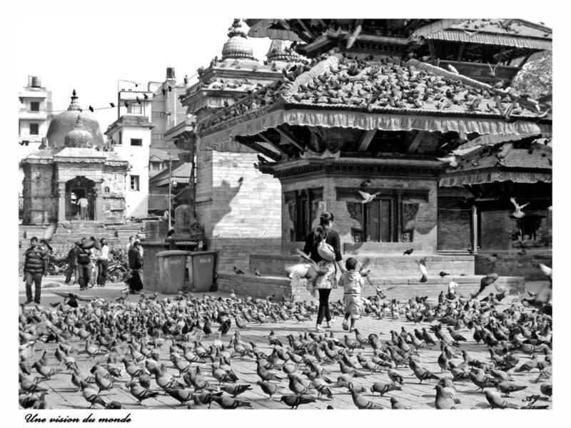 Scène de vie au Népal, par alexandre jouatel