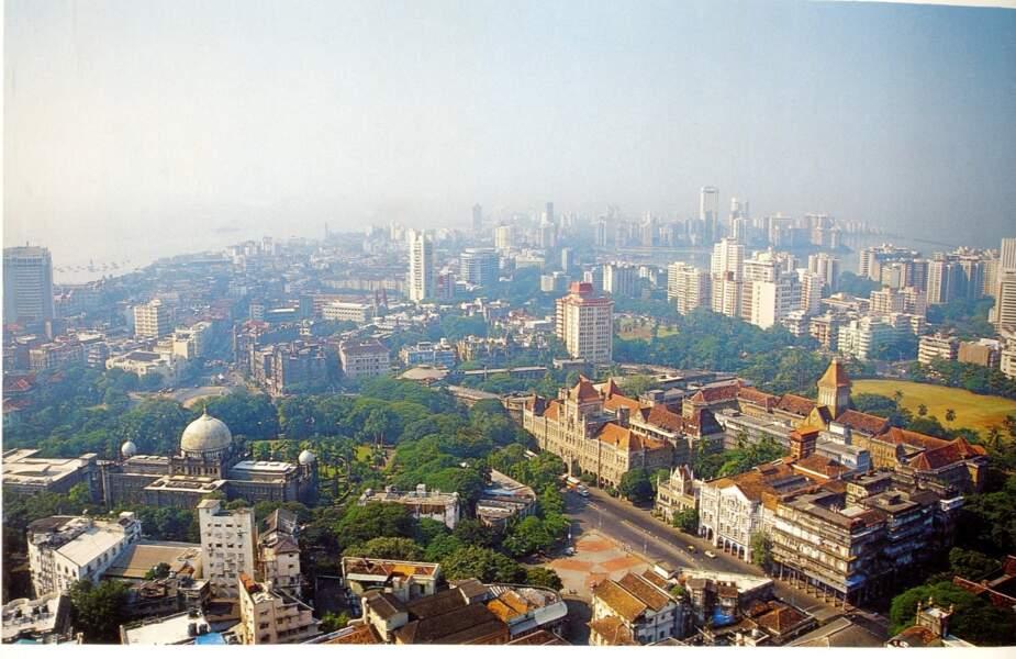 Les ensembles néo-gothique victorien et Art déco de Mumbai, en Inde