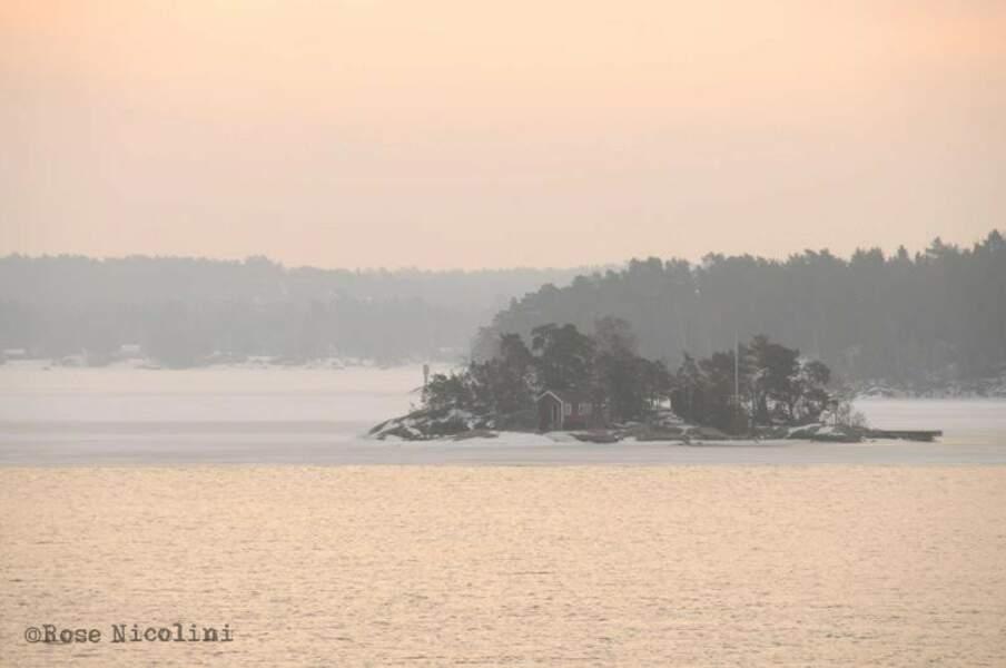 Paysage en Suède, par Rose Nicolini / Communauté GEO