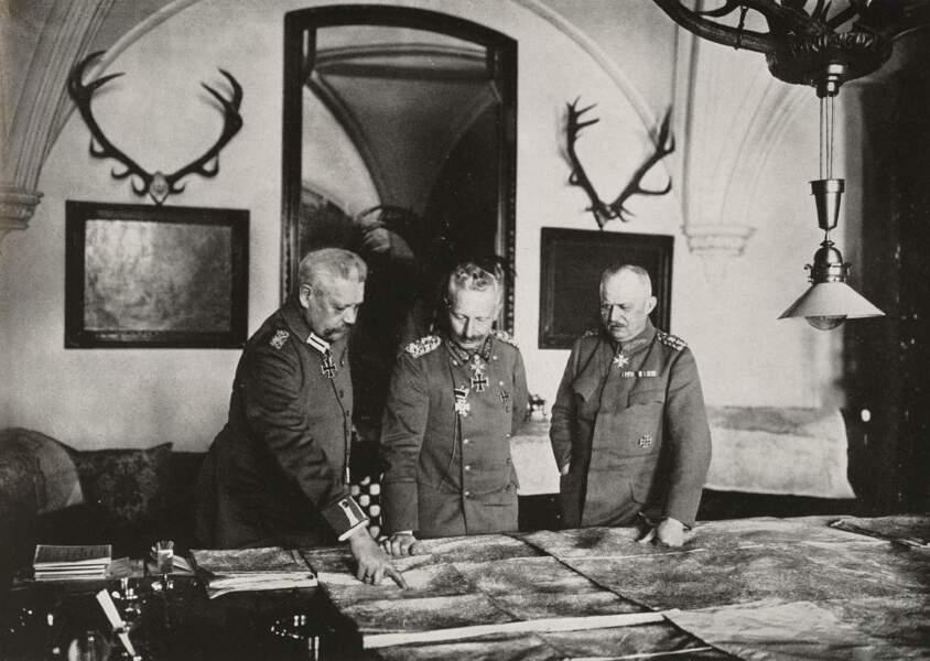 14 août 1918 : réunion de crise à Spa