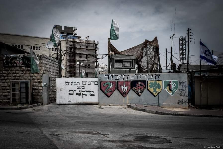 Rue Sahada à Hébron