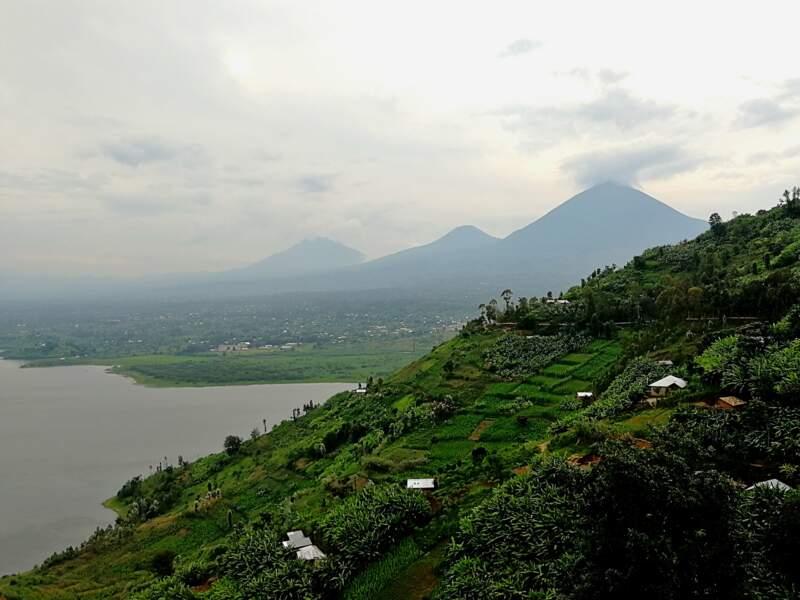 Observer les imposantes silhouettes des volcans