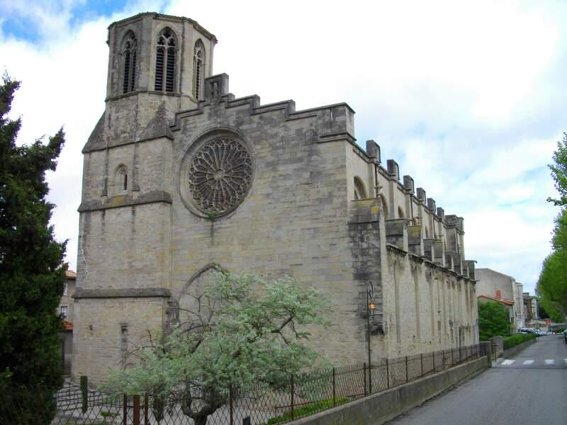 La cathédrale Saint-Michel, siège épiscopal de Carcassonne
