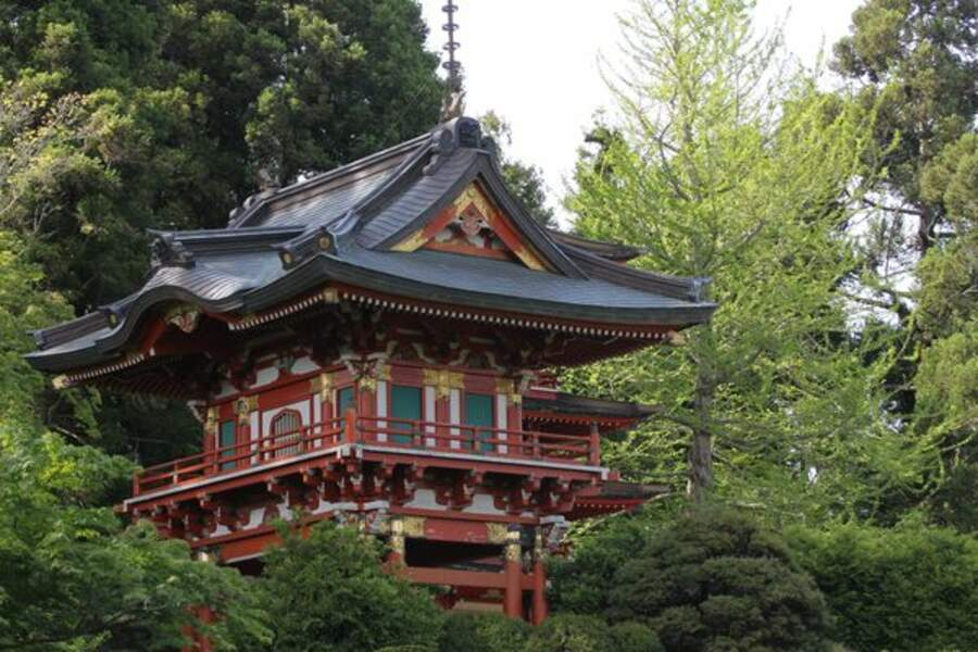 Etats-Unis - Le Golden Gate Park et son merveilleux Japanese Tea Garden à San Francisco