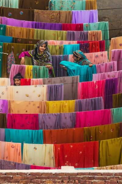 Femmes à Bahawalpur, Pendjab, Pakistan