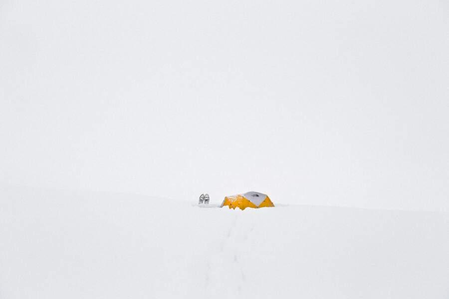 Vallée Samuel Glacier, au Canada