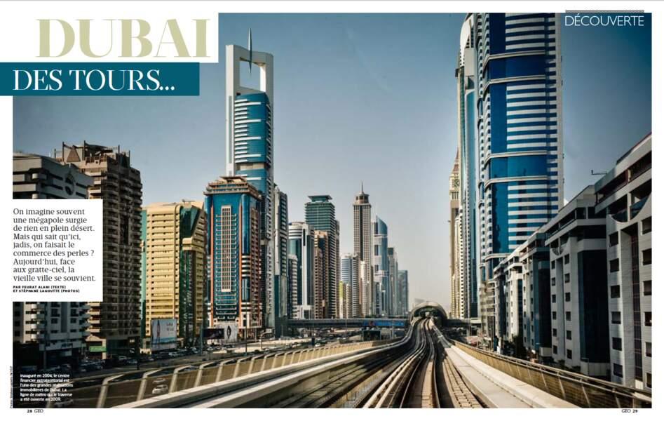 DÉCOUVERTE : Dubai, des tours et une âme