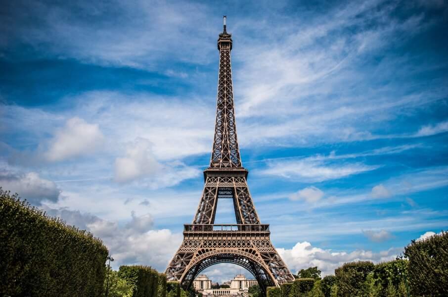 5 - La tour Eiffel à Paris, France