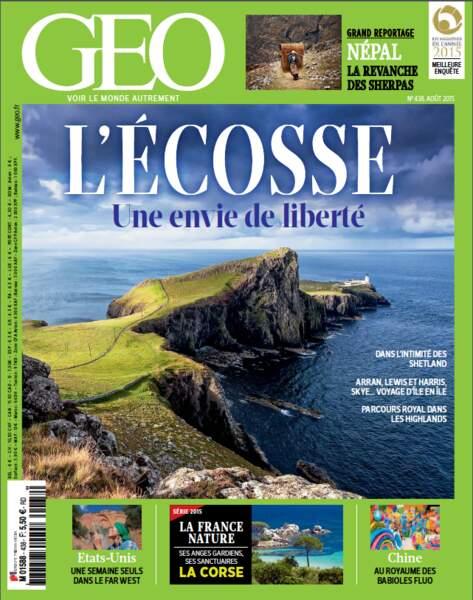 Retrouvez l'intégralité de ce reportage dans le magazine GEO 438 (août 2015)