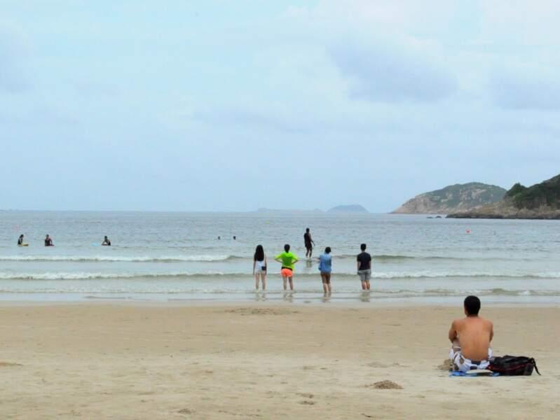La plage de Big Wave