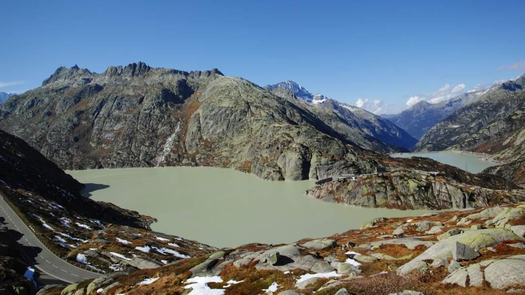 La Haute Route jusqu'au Valais suisse