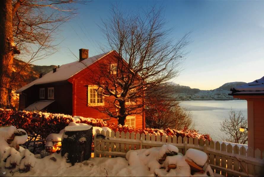 Hiver à Bergen, en Norvège, par Véronique Soulier / Communauté GEO