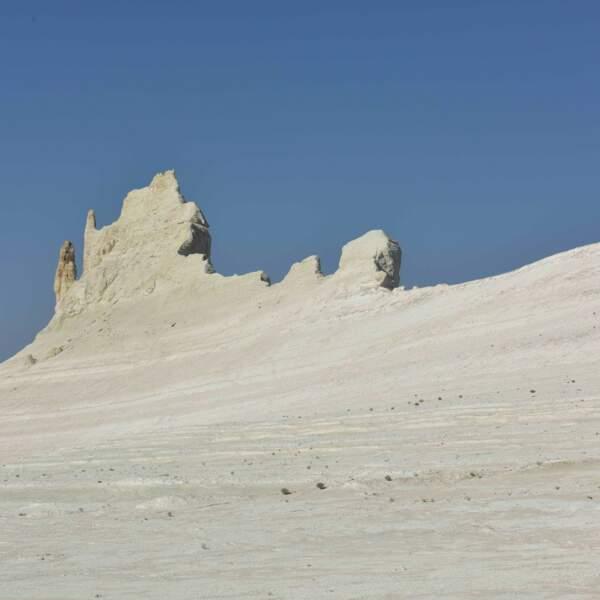 Le canyon blanc de Bozzhira sous une autre forme