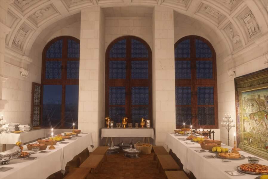 Chambord : la salle du banquet