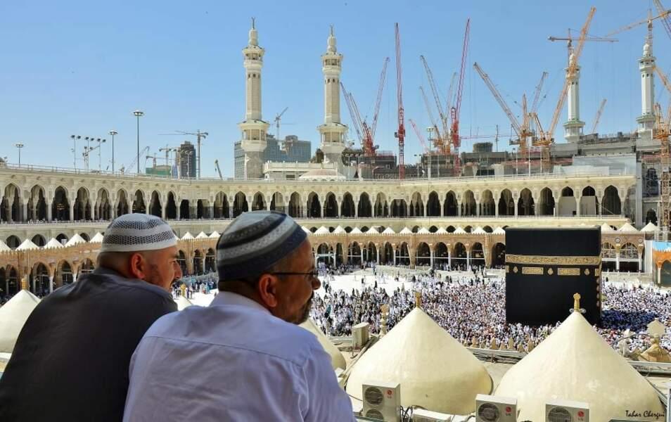 Photo prise à La Mecque (Arabie saoudite) par le GEOnaute : Atlas29