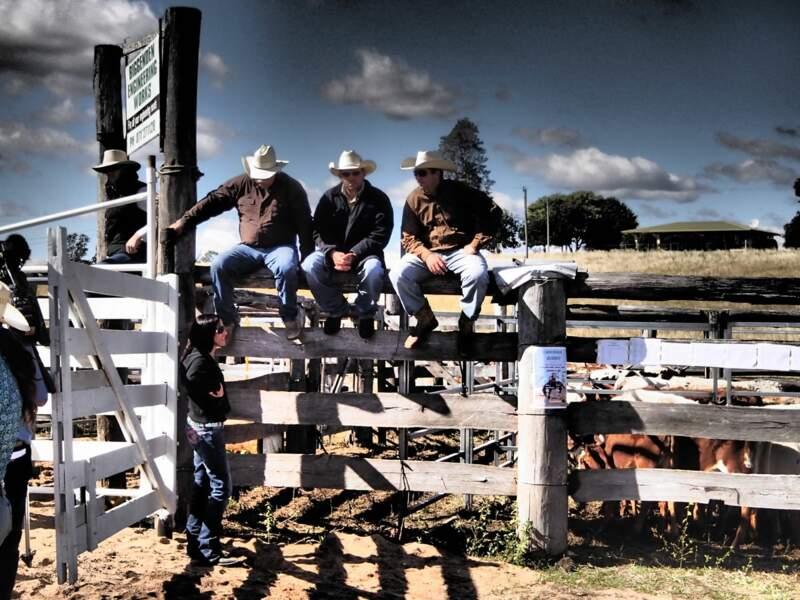 Cowboys au rodéo de Teebar, en Australie / par Florent Legrand