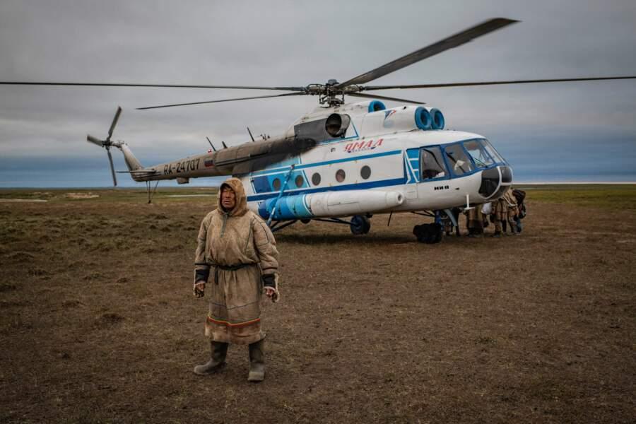 A l'école en hélicoptère