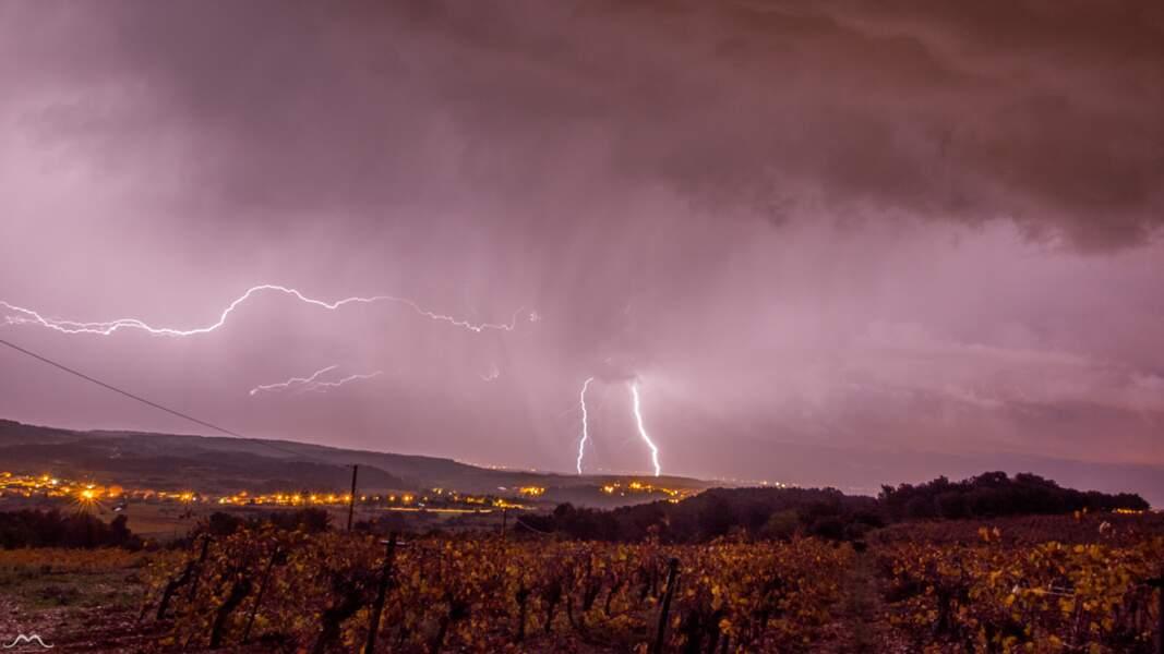 Joli doublé sur Capestang (Hérault) dans la nuit du 25 au 26 novembre 2016
