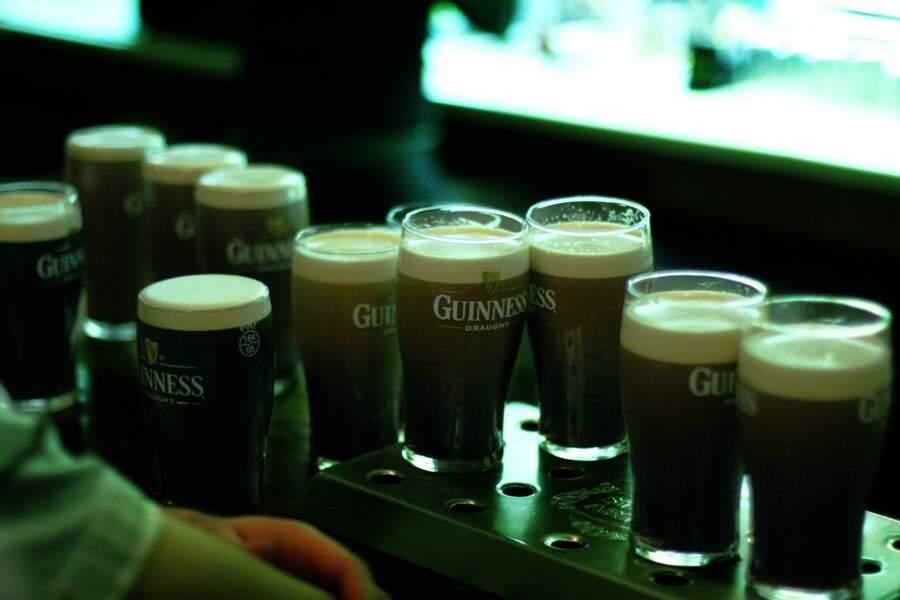 Un plongeon et une Guinness (Irlande)