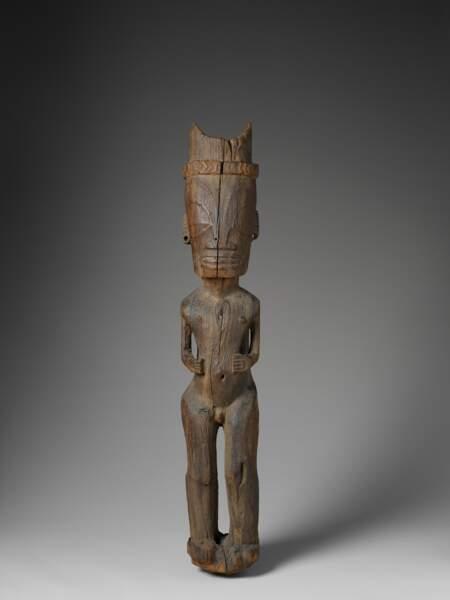Statue de l'art marquisien, 19e siècle
