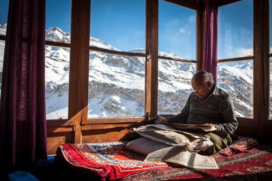 Méditation en altitude