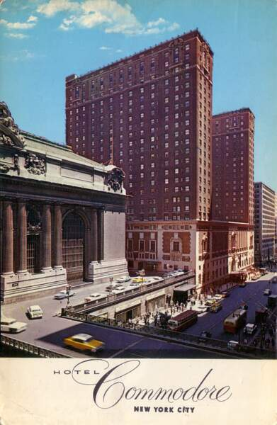 Commodore Hotel : le palace fantôme de Manhattan