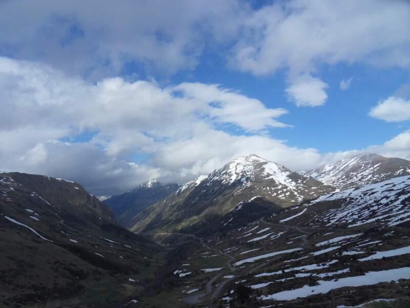 Col de Puymorens, dans l'Ariège