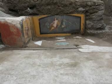 """A Pompéi, des fouilles révèlent un restaurant """"fast-food"""" vieux de 2000 ans"""