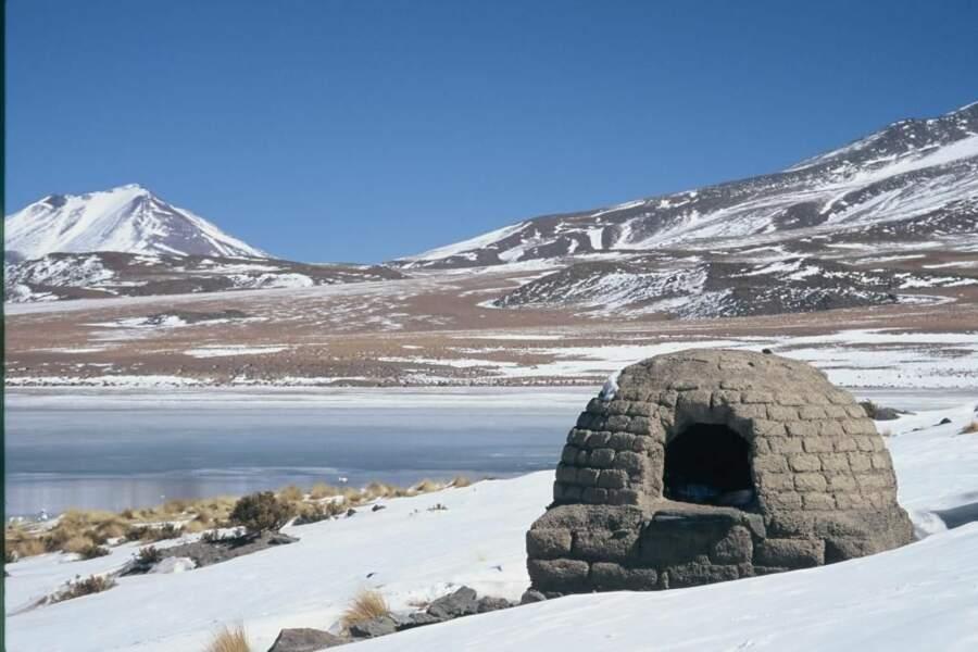 Photo prise dans la Laguna Colorada (Bolivie) par le GEOnaute : jol