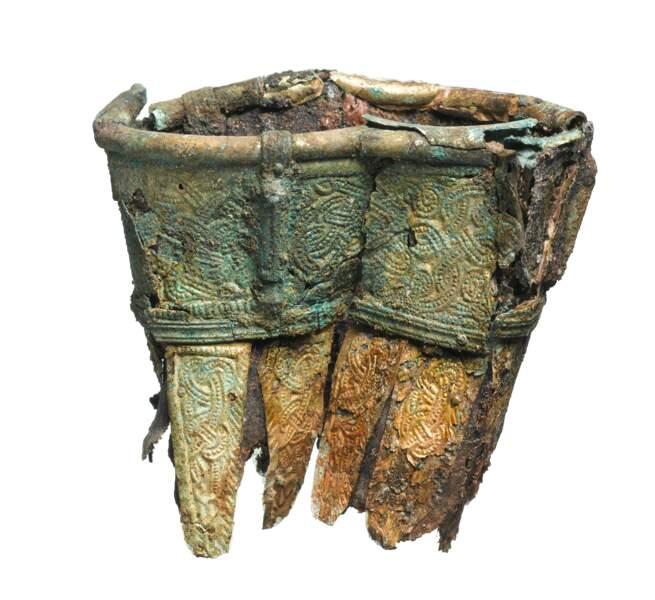 Enterré entre 575 et 605 de notre ère