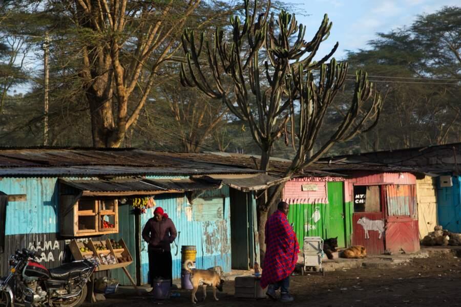 Le bidonville de Karagita
