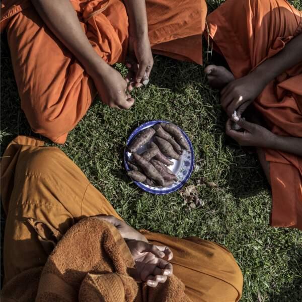 Trois moines
