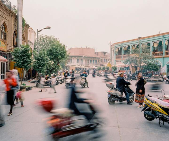 Kashgar, défigurée
