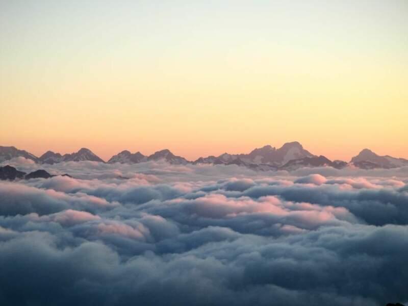 Photo prise au Pic du Midi (Hautes-Pyrénées) par le GEOnaute : Treizeuuh