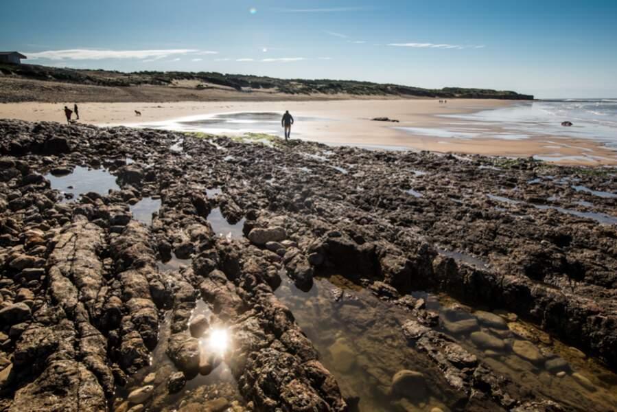 Plage de la Mine à Jard-sur-mer