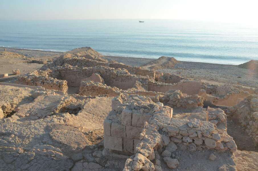 La cité ancienne de Qalhât, sultanat d'Oman