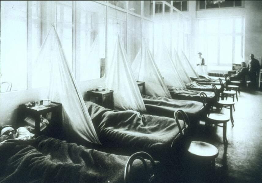 Octobre 1918 : la grippe espagnole, plus mortelle que les combats