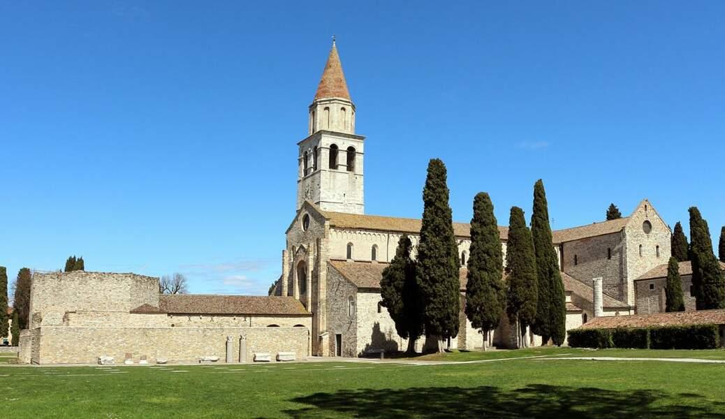 Zone archéologique et la basilique patriarcale d'Aquilée, Italie