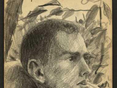 Les croquis émouvants d'un jeune combattant de la Seconde Guerre mondiale